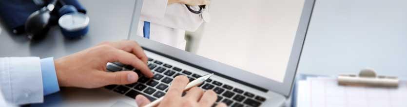 doctor check medical website